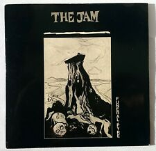 """THE JAM - FUNERAL PYRE - 7"""" EP 1981 - UK PRESS - GLOSS LAMINATED - EX / EX"""