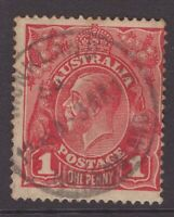 Queensland MONKLAND postmark on KGV