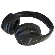 Externos circumaurales negro con conexión Bluetooth