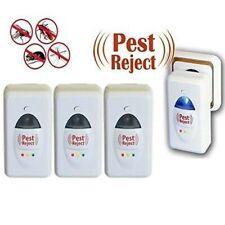 Ahuyentador de plagas, insectos, roedores, etc. PEST REJECT. Pack de 4 unidades.