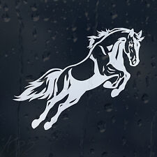 Jumping Horse Car Decal Vinyl Sticker For Window Or Bumper Or Panel