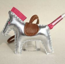 Real genuine leather Rodeo Horse Pony bag charm,perfect for herme Birkin anybag