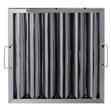 Box of 6 pcs Stainless Steel Commercial Hood Baffle Grease Filter 16 x 16