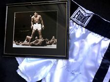Muhammad Ali - Package - Signed Photo and Boxing Trunks