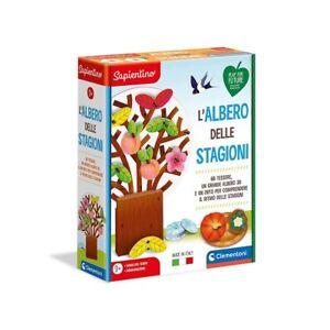 Gioco educativo L'albero delle Stagioni Clementoni, figure cartonate, 3+