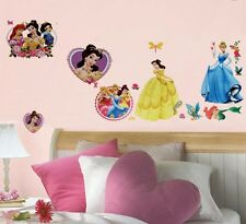 DISNEY PRINCESS & MERMAID ARIEL Wall Sticker Kids Nursery 60X33CM
