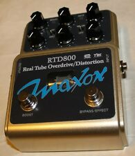 MAXON RTD800 Real Tube Overdrive-Distortion Pedal, NEW ! Maxon Authorized Dealer