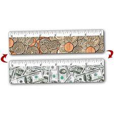 Ruler Bookmark Dollar Coin American Lenticular Flip 6 in. Setof3 #RU06-952-I-S3#