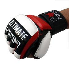 UF MMA  FREEFIGHT Handschuhe Leder Sandsack NEU Grappling Boxhandschuhe