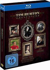 TIM BURTON COLLECTION (Johnny Depp) 3 Blu-ray Discs NEU+OVP
