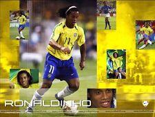 RONALDINHO THE GOALS AND THE BEST DVD BRAZIL BARCELONA MILAN FREE SHIPPING