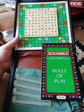 Travel Scrabble Spears Games 100% Complete ~ GOOD USED CONDITION