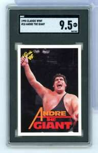 1990 CLASSIC WWF ANDRE THE GIANT #10 SGC MT+ 9.5 RB7673