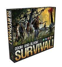 New Doom and Bloom SURVIVAL! Board Game by Dr. Bones & Nurse Amy
