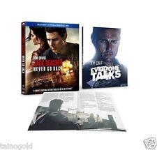 Jack Reacher: Never Go Back (Blu-ray/DVD, 2017, 2-Disc Set, Includes Digital ...