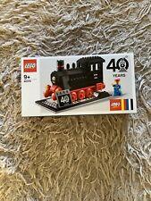 LEGO 40370 Steam Engine Locomotive Train 40 Years Anniversary 188 Pcs Age 9+