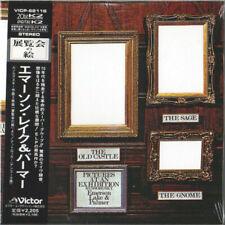 EMERSON LAKE PALMER - PICTURES EXIBITION-JAPAN MINI LP CD OBI NEUF VICP-62116