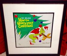 Rare How The Grinch Stole Christmas Limited Edition Lithograph Classic Image