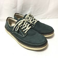 GH Bass & Co Bass Tom Men's 10 Leather Navy Blue Fashion Sneaker Shoes