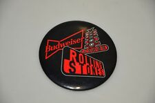 Original New Orlean Vodoo Loung Rolling stone Budwieser metal Label  Pin Button