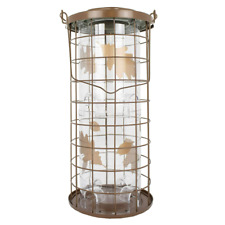 Bird Feeder Seed Feeders Hanging Feeding Ports Squirrel Proof 3-Lb Capacity