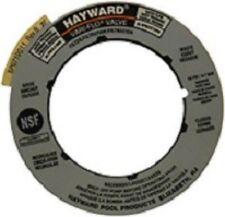 Hayward SPX0710G - SP710 Series Multiport Backwash Valve Label Plate