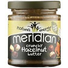 Meridian Foods Crunchy Hazelnut Butter 100%25 170g
