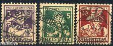 Schweiz Pro Juventute Trachten 1916 o (S2942)