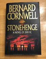 Stonehenge: A Novel of 2000 BC by Bernard Cornwell SIGNED RARE!