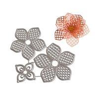 Blume Stanzformen Schablone Rahmen für DIY Scrapbooking Prägung AlbumF0X1