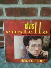 ELVIS COSTELLO & ATTRACTIONS - PUNCH THE CLOCK - STEREO VINYL LP VG+