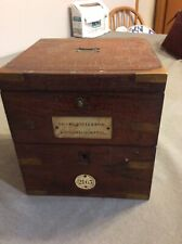 Marine Chronometer Tho Russell & Son London Makers To The Queen Parts Or Repair