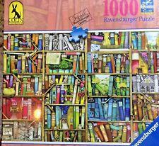Ravensburger  THE BIZARRE BOOKSHOP  1000 Piece Jigsaw Puzzle NEW sealed