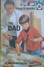'How it works' Le Papa Un Ladybird Livre Rétro pour Adultes Very funny