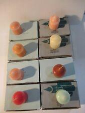 Lot 8 Boxes Votive Party Lite Candles (6 per box)