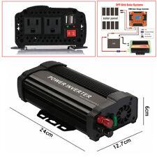 Car Truck 1000W Peak Power Inverter DC12V To AC110V Modified Sine Wave Converter