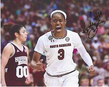 Kaela Davis Signed 8 x 10 Photo Dallas Wings South Carolina Wnba Basketball