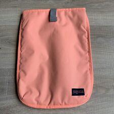 "Jansport Sleeve Padded Case Laptop Bag Computer 11"" x 15"" Peach"