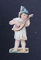 DECOUPIS enfant Children Kinder Victorian scrap chromo Oblaten Glanzbild 12