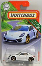 2018 Matchbox Porsche Cayman #124 Mbx Road Trip Series Diecast Car