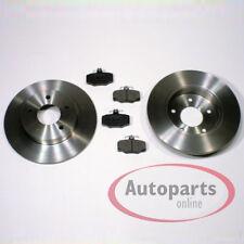 Nissan Almera Tino V10 Bremsscheiben Bremsen Bremsbeläge für hinten Hinterachse*