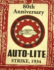 UAW med T shirt union Local 1435 retro Auto-Lite Strike tee Toledo Auto Workers