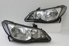 Honda JDM Acura CSX Civic FD1 FD2 OEM HID Headlight Lamp W/Ballast 2005-11 1Pair