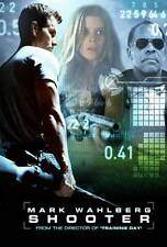 SHOOTER Movie POSTER 27x40 C Mark Wahlberg Michael Pe a Danny Glover Kate Mara