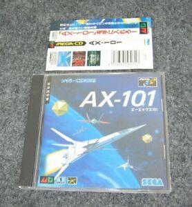 AX-101 Sega Mega CD Import Japanese Video Game w/ Obi Spine card 1994 US Seller