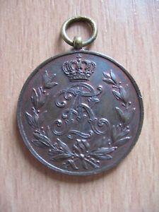 Sachsen - Friedrich August Medaille in Bronze
