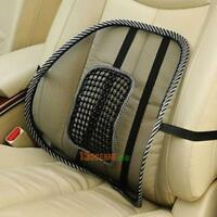 Mesh Lumbar Back Brace Support Office Home Car Seat Chair Cushion Support Pad
