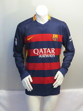 FC Barcelona Long Sleeve Jersey - 2015 Hone Jersey by Nike - Men's Extra Large