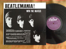 With the Beatles Beatlemania! Wide stereo Canadian vinyl LP