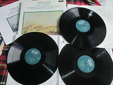 Vivaldi La Cetra Op. 9 argo 3 x Vinyl LP Album Box Set